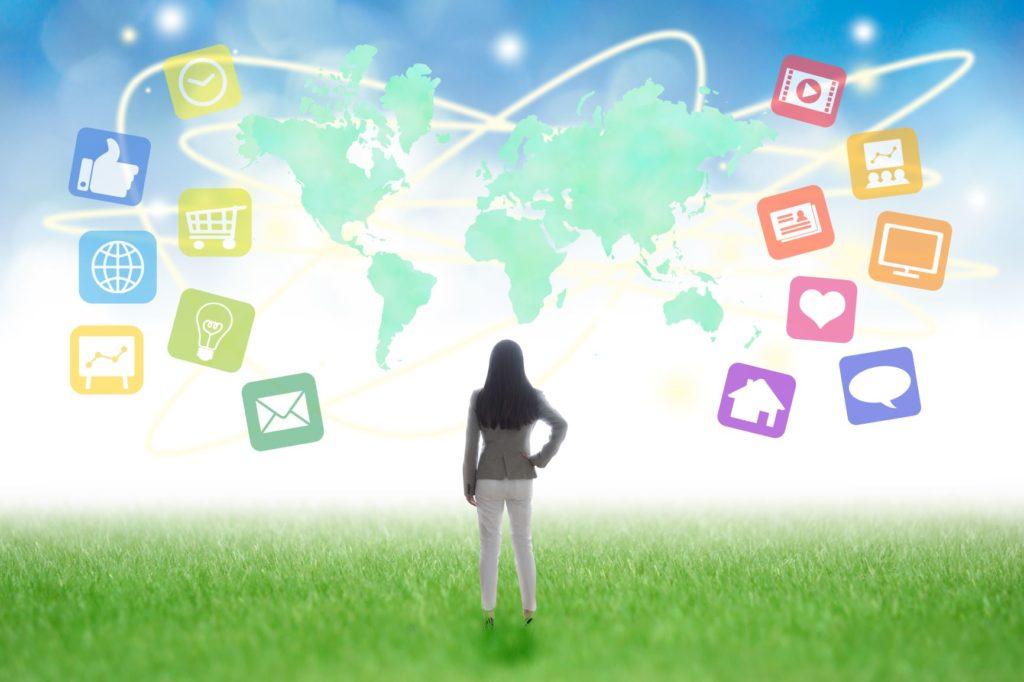 ネット集客の流れと対応ツール